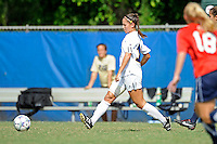 2 October 2011:  FIU forward Deana Rossi (17) passes the ball in the second half as the FIU Golden Panthers defeated the University of South Alabama Jaguars, 2-0, at University Park Stadium in Miami, Florida.
