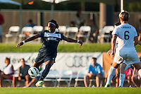 Sky Blue FC forward Danesha Adams (9). Sky Blue FC defeated the Washington Spirit 1-0 during a National Women's Soccer League (NWSL) match at Yurcak Field in Piscataway, NJ, on July 6, 2013.