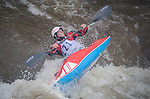 June 8, 2017 - Vail, Colorado, U.S. - Hunter Katich sets up for a maneuver on Gore Creek in the Freestyle Kayak competition during the GoPro Mountain Games, Vail, Colorado.  Adventure athletes from around the world meet in Vail, Colorado, June 8-11, for America's largest celebration of mountain sports, music, and lifestyle.