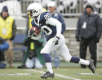 State College, PA - 11/27/2010:  Devon Smith returns a kick.  Penn State lost to Michigan State by a score of 28-22 on Senior Day at Beaver Stadium...Photo:  Joe Rokita / JoeRokita.com..Photo ©2010 Joe Rokita Photography