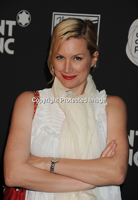 SANTA MONICA, CA - JUNE 18: Alice Evans arrives for the Montblanc presents West Coast debut of The 24 Hours Plays after party at Pier 59 on June 18, 2011 in Santa Monica, California.