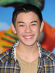 Ryan Potter attends The Paramount Pictures' L.A. Premiere of RANGO held at The Regency Village Theatre in Westwood, California on February 14,2011                                                                               © 2010 DVS / Hollywood Press Agency