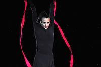 "GANNA RIZATDINOVA of Ukraine performs gala at 2011 World Cup Kiev, ""Deriugina Cup"" in Kiev, Ukraine on May 8, 2011."