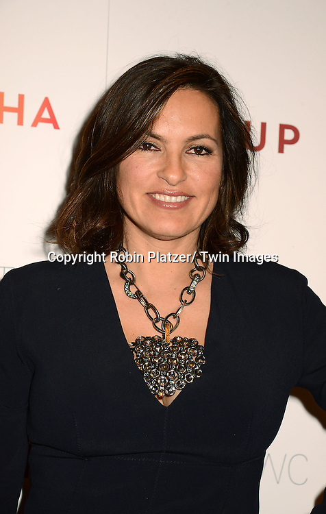 "Mariska Hargitay attends the New York Premiere of ""FED UP"" on May 6, 2014 at The Museum of Modern Art in New York City."