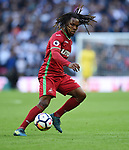 Renato Sanches of Swansea City  during the premier league match at the Wembley Stadium, London. Picture date 16th September 2017. Picture credit should read: Robin Parker/Sportimage