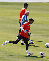 Goalkeeper, Diego Lopez, during Real Madrid´s first training session of 2013-14 seson. July 15, 2013. (ALTERPHOTOS/Victor Blanco) ©NortePhoto
