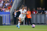 LYON, FRANCE - JULY 07: Carli Lloyd #10 during the 2019 FIFA Women's World Cup France final match between the Netherlands and the United States at Stade de Lyon on July 07, 2019 in Lyon, France.