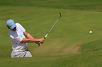 Robert Brazill (Naas) on the 3rd during the Final of the AIG Irish Amateur Close Championship 2019 in Ballybunion Golf Club, Ballybunion, Co. Kerry on Wednesday 7th August 2019.<br /> <br /> Picture:  Thos Caffrey / www.golffile.ie<br /> <br /> All photos usage must carry mandatory copyright credit (© Golffile | Thos Caffrey)