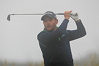 Richard McCrudden (Royal Portrush) on the 1st tee during Round 1 - Matchplay of the North of Ireland Championship at Royal Portrush Golf Club, Portrush, Co. Antrim on Wednesday 11th July 2018.<br /> Picture:  Thos Caffrey / Golffile