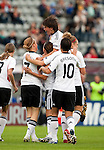 Inka Grings scores 1-0 for Germany, QF, Germany-Italy, Women's EURO 2009 in Finland, 09042009, Lahti Stadium.