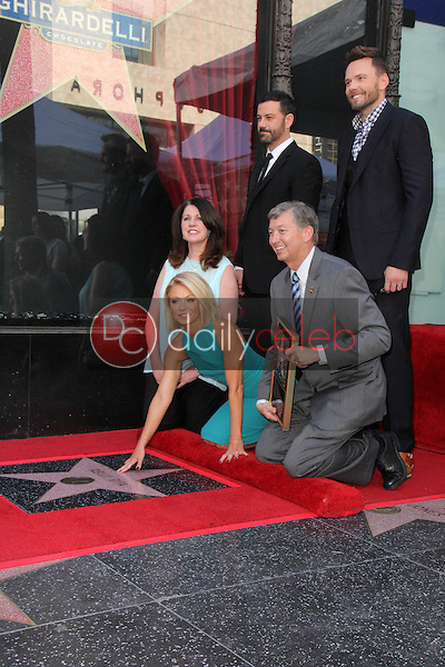 Joel McHale, Jimmy Kimmel, Kelly Ripa<br />