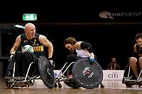 Jason Lees (AUS)  vs Ireland<br /> Australian Wheelchair Rugby Team<br /> 2018 IWRF WheelChair Rugby <br /> World Championship / Day 4<br /> Sydney  NSW Australia<br /> Wednesday 8th August 2018<br /> © Sport the library / Jeff Crow / APC