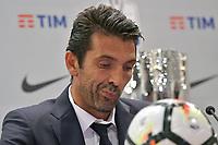 Gianluigi Buffon Juventus <br /> Roma 12-08-2017 Stadio Olimpico <br /> Conferenza Stampa Supercoppa Italiana 2017/2018 <br /> Press Conference Italian Super Cup <br /> Foto Andrea Staccioli Insidefoto