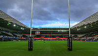 A general view of Liberty Stadium, home of Ospreys.<br /> <br /> Photographer Dan Minto/CameraSport<br /> <br /> Guinness Pro14 Round 13 - Ospreys v Cardiff Blues - Saturday 6th January 2018 - Liberty Stadium - Swansea<br /> <br /> World Copyright &copy; 2018 CameraSport. All rights reserved. 43 Linden Ave. Countesthorpe. Leicester. England. LE8 5PG - Tel: +44 (0) 116 277 4147 - admin@camerasport.com - www.camerasport.com