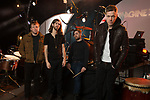 Imagine Dragons pose for a group portrait on Wednesday, Feb. 6, 2013 in Las Vegas. (Photo by Al Powers Powers Imagery/Invision/AP)xx of Imagine Dragon poses for a portrait on Wednesday, Feb. 6, 2013 in Las Vegas. (Photo by Al Powers/Powers Imagery/Invision/AP)