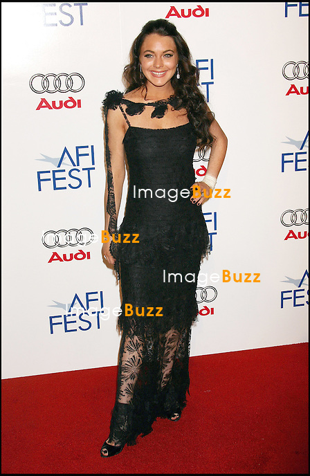 """LINDSAY LOHAN - PREMIERE DU FILM """"BOBBY"""" DANS LE CADRE DE LA SOIREE DE GALA POUR L 'OUVERTURE DU FESTIVAL AFI 2006 A LOS ANGELES."""" AFI FEST 2006 OPENING NIGHT GALA FOR THE MOVIE PREMIERE OF """" BOBBY """", AT THE CHINESE THEATRE IN HOLLYWOOD..LOS ANGELES, NOVEMBER 1, 2006...Pic : Lindsay Lohan"""
