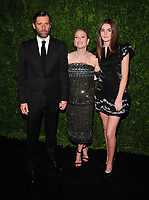 NEW YORK, NY - NOVEMBER 13: Bart Freundlich, Julianne Moore, Liv Freundlich attends the 2017 Museum of Modern Art Film Benefit Tribute to herself at Museum of Modern Art on November 13, 2017 in New York City. Credit: John Palmer/MediaPunch