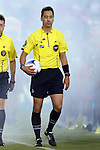 03 September 2016: Referee Geoff Gamble. The Carolina RailHawks hosted the Jacksonville Armada at WakeMed Stadium in Cary, North Carolina in a 2016 North American Soccer League Fall Season game. Carolina won the match 1-0.