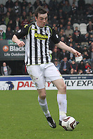 Sean Kelly in the St Mirren v Ross County Scottish Professional Football League Premiership match played at St Mirren Park, Paisley on 3.5.14.