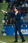 Coach Jose Angel Ziganda of Athletic Club de Bilbao gestures during the La Liga 2017-18 match between Getafe CF and Athletic Club at Coliseum Alfonso Perez on 19 January 2018 in Madrid, Spain. Photo by Diego Gonzalez / Power Sport Images