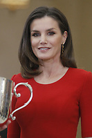 MADRID, SPAIN-January 10: Queen Sofia of Spain attend National Sport Awards 2017 at El Pardo Royal Palace on January 10, 2019 in Madrid, Spain January10, 2019  ***NO SPAIN***<br /> CAP/MPI/RJO<br /> &copy;RJO/MPI/Capital Pictures