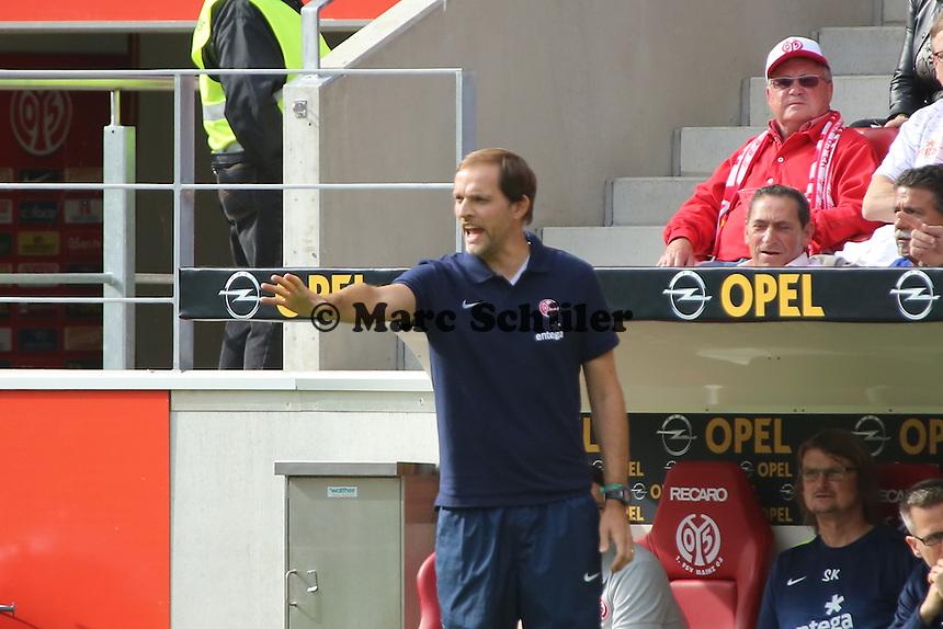 Trainer Thomas Tuchel (Mainz) - 1. FSV Mainz 05 vs. Bayer 04 Leverkusen, Coface Arena, 6. Spieltag