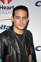 NEW YORK, NY - DECEMBER 8: G-Eazy at Z100's Jingle Ball 2017 at Madison Square Garden in New York City, Credit: John Palmer/MediaPunch /nortephoto.com NORTEPHOTOMEXICO