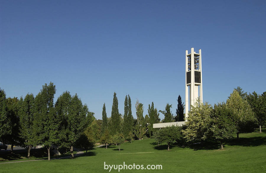 GCS 9/26/02 Bell Tower..Photo by Jaren Wilkey/BYU