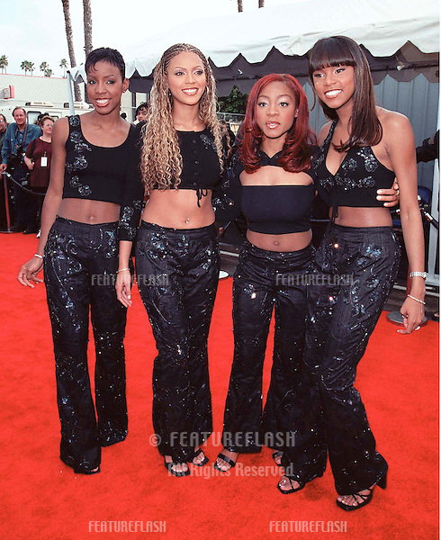 R&B group DESTINY'S CHILD at the Soul Train Lady of Soul Awards in Santa Monica where they were presenters..© Paul Smith / Featureflash