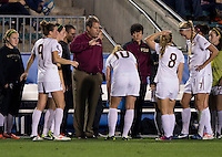 Mark Krikorian. Florida State defeated Virginia Tech, 3-2,  at the NCAA Women's College Cup semifinals at WakeMed Soccer Park in Cary, NC.