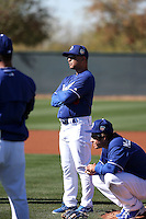 Dave Roberts, manager - Los Angeles Dodgers 2016 spring training (Bill Mitchell)