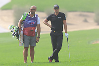 Henrik Stenson (SWE) on the 2nd during Round 2 of the Omega Dubai Desert Classic, Emirates Golf Club, Dubai,  United Arab Emirates. 25/01/2019<br /> Picture: Golffile | Thos Caffrey<br /> <br /> <br /> All photo usage must carry mandatory copyright credit (© Golffile | Thos Caffrey)