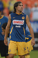 Club America midfielder Federico Insua (8) during pre-game warm ups. DC United defeated Club America 1-0 to secure one of the two semifinal berths in SuperLiga group B, at RFK Stadium in Washington DC, Sunday July 29, 2007.