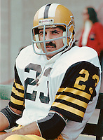 Rocky DePietro Hamilton Tiger Cats. Copyright photograph Scott Grant