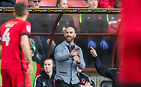 Leyton Orient Manager Omer Riza during the Sky Bet League 2 match between Leyton Orient and Wycombe Wanderers at the Matchroom Stadium, London, England on 1 April 2017. Photo by Andy Rowland.