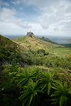 Aakapa cliffs,   north coast of Nuku Hiva<br /> <br /> Murailles acerees d'AAkapa sur la cote nord de Nuku Hiva