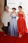 Right to left Katie Holmes, niece Kathleen Hurley and Kathleen Stothers-Holmes arrive at the American Ballet Theatre 2017 Spring Gala at Lincoln Center in New York City on May 22, 2017. (Photo: Shawn Punch Photography)