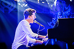 Charlie Puth performs onstage during 103.5 KISS FM's Jingle Ball 2015 presented by Capital One at Allstate Arena in Chicago, Illinois.