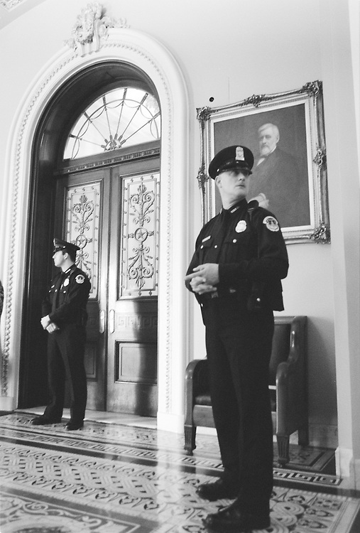 U.S. Capitol Police.Roll Call 20th Century Image