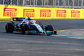 17th March 2019, Melbourne Grand Prix Circuit, Melbourne, Australia; Melbourne Formula One Grand Prix, race day; The number 88 ROKiT Williams driver Robert Kubica during the race