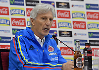 Jose Pekerman, Rueda Prensa / Jose Pekerman, Press Conference, 04–10-2017