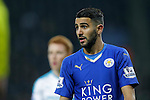 Riyad Mahrez of Leicester City during the Barclays Premier League match at The King Power Stadium.  Photo credit should read: Malcolm Couzens/Sportimage