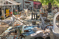 The Little Tin Barn is located between Vinita and Chelsea Oklahoma on Route 66, and is a junker's paradise.