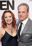 Jennifer Laura Thompson and Michael Park attends the Broadway Opening Night After Party for 'Dear Evan Hansen'  at The Pierre Hotel on December 3, 2016 in New York City.
