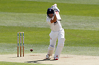 Ollie Robinson of Kent hits four runs during Kent CCC vs Essex CCC, Friendly Match Cricket at The Spitfire Ground on 27th July 2020