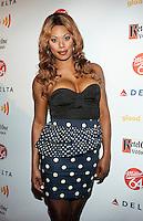 Laverne Cox at GLAAD Manhattan in New York City.  August 7, 2012.  © Laura Trevino/Media Punch Inc. /Nortephoto.com<br /> <br /> <br /> **SOLO*VENTA*EN*MEXICO**<br /> **CREDITO*OBLIGATORIO** <br /> *No*Venta*A*Terceros*<br /> *No*Sale*So*third*<br /> *** No Se Permite Hacer Archivo**<br /> *No*Sale*So*third*