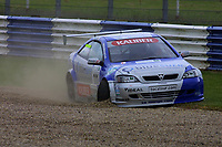 Round 4 of the 2002 British Touring Car Championship. #111 Aaron Slight (NZL). Barwell Motorsport. Vauxhall Astra Coupé.