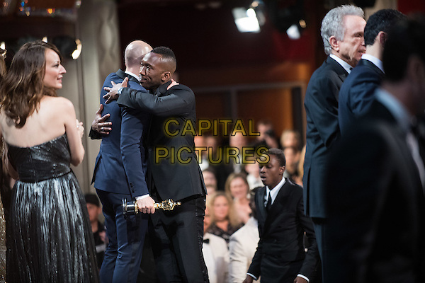 Fred Berger and Mahershala Ali onstage during the live ABC Telecast of The 89th Oscars&reg; at the Dolby&reg; Theatre in Hollywood, CA on Sunday, February 26, 2017.<br /> *Editorial Use Only*<br /> CAP/PLF/AMPAS<br /> Supplied by Capital Pictures