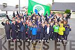NUMBER FOUR: Children from Scoil Mhuire, Knocknagoshel, celebrating receiving their 4th Green Flag, for biodiversity, on Friday.