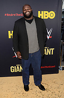 """LOS ANGELES - FEB 29:  Mark Henry at the """"Andre The Giant"""" HBO Premiere at the Cinerama Dome on February 29, 2018 in Los Angeles, CA"""